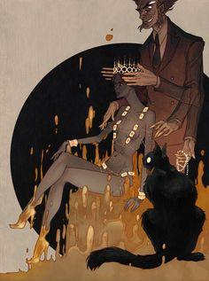 The Master and Margarita illustration Art Prints, Character Design, Drawings, Fantasy Art, Illustration Art, Conceptual Art, Art, Gothic Art, The Master And Margarita