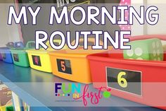 My morning routine is the perfect combination of traditional morning work and morning tub explorations. It& a great way to start the day. 1st Day Of School, Beginning Of School, Back To School, School Stuff, High School, School Starts, School Daze, Summer School, Sunday School