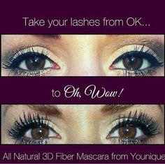 Its prom time lets get these lashes together. www.youniqueproducts.com/DanaShelton
