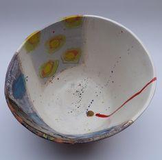 Interior of large bowl © Linda Styles Ceramics 2014