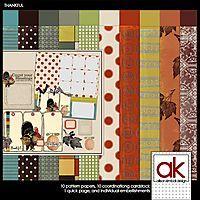 Scrapbooking TammyTags -- TT - Designer - Allison Kimball Design, TT - Item - Kit or Collection, TT - Style - Sampler or Mini Kit, TT - Theme - Autumn or Thanksgiving