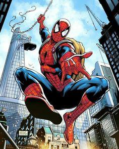 Limited edition Spiderman print I designed for Disney & Oz Comic-con Mega Marvel ticket holders. Went for a kind of Spiderman. Amazing Spiderman, Art Spiderman, Spiderman Tattoo, Marvel Comic Universe, Marvel Comics Art, Marvel Heroes, Marvel Avengers, Comic Anime, Spectacular Spider Man