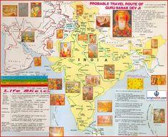 Guru Nanak Dev Ji -  Udaasis