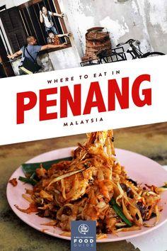 Penang Food Guide: 15 Must-Eat Restaurants Restaurant Streets, Laksa, Best Street Food, Food Stall, Monkey Bread, Food Court, Seafood, Restaurants, Curry