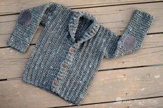 Adorable toddler cardigan free crochet pattern