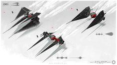 First Order: Tie Fighter, Mack Sztaba on ArtStation at https://www.artstation.com/artwork/PGPr4