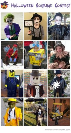 Homemade Costumes for Boys - DIY Halloween Costume Contest
