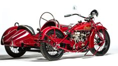 1928 Indian 101 Scout With Sidecar