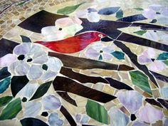 Mosaic Table - Oval | Designer Glass Mosaics|Designer Glass Mosaics