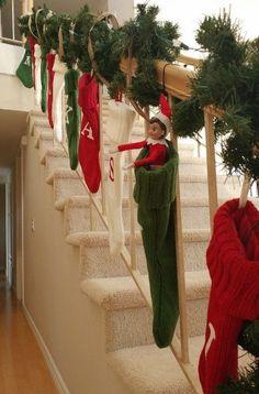 elf-on-the-shelf-ideas-hiding-in-a-stocking