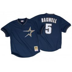 Jeff Bagwell 1997 Authentic Mesh BP Jersey Houston Astros | Mitchell & Ness