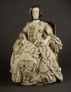 Womans Robe à la Francaise for Court (Sack Gown)1760-1770 | LACMA Collections