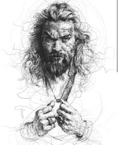 Post with 1677 votes and 112650 views. Vince Low's scribble art is friggen chaotic and I love it. Portrait Sketches, Pencil Portrait, Portrait Art, Ink Pen Drawings, Art Drawings Sketches, Scribble Art, Arte Horror, Sketch Inspiration, Black And White Drawing