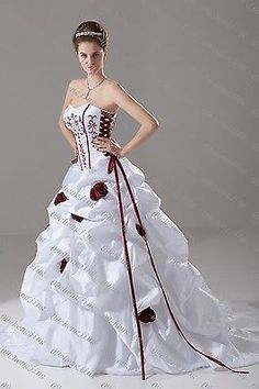Cheap Aa Rosette Buy Quality Adapter Directly From China Wheel Suppliers White Red Wedding Dress Bridal Go Wn Custom Plus Siz 2014 Purfle