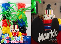 Mickey Mouse Cumpleaños Birthday Party