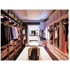His and hers walk in closet