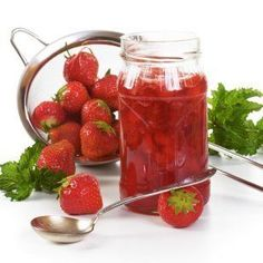 This is a guide about canning strawberries. Canning is a perfect way to preserve those deliciously sweet strawberries from your garden or the farmer's market. You can make a jam or jelly or can the whole fruit in a syrup.
