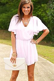 Sweet Pea Romper, Lilac. Perfect for Austin!
