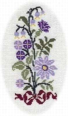 bouquet-violette Cross Stitch Cards, Cross Stitch Flowers, Cross Stitching, Crochet, Embroidery Stitches, Diy And Crafts, Kids Rugs, Elsa, Pretty