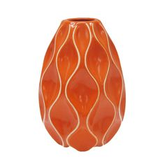 Buy the Large Orange Tabletop Vase By Ashland® at Michaels.com. Accentuate your table with this bright orange vase by Ashland.