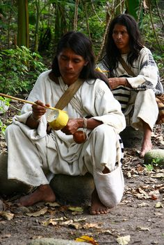natives of Sierra Nevada de Santa Marta, Colombia Sierra Nevada, Santa Marta, We Are The World, People Around The World, Around The Worlds, Colombian Culture, Colombian Men, Ecuador, Colombia Travel