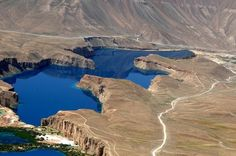 Lagos de azul profundo de Band-e-Amir - Afeganistão