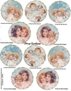Paper Crafts – Vintage Pieces for Collage/Altered Art – Ammey's Art Attic Vintage Christmas Images, Christmas Pictures, Christmas Scenes, A Christmas Story, Diy Arts And Crafts, Paper Crafts, Victorian Crafts, Christmas Decoupage, Angel Crafts