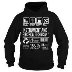 Awesome Tee For Instrument And Electrical Technician T-Shirts, Hoodies. CHECK PRICE ==► https://www.sunfrog.com/LifeStyle/Awesome-Tee-For-Instrument-And-Electrical-Technician-Black-Hoodie.html?id=41382