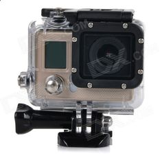 F42 Water Resistant Anti-Shake 0.7 LCD 1080P HD Sports Camera Camcorder w/ WiFi / Wireless Control