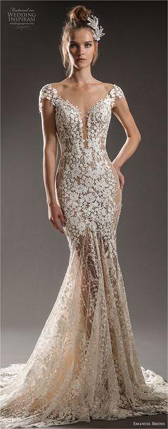 Gorgeous 50+ Elegant Lace Mermaid Wedding Dresses https://bridalore.com/2017/11/10/50-elegant-lace-mermaid-wedding-dresses/