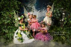 5 sisters fairy photography session