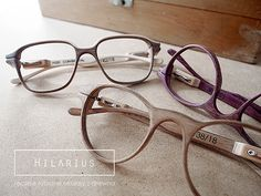 HILARIUS- handcrafted wooden spectacles