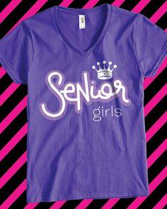 Senior Night custom vintage varsity t-shirt - design idea for custom ...