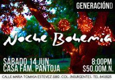 Generación D - Noche Bohemia