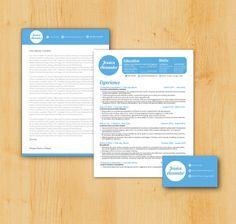 Creativemarket - Fancy Resume & Cover Letter - All Design Template