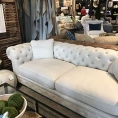 Too tufted?  Too big?  Love it though and it's a great price at J Cooper in PV