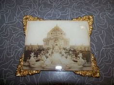 1904 St. Louis World's Fair Framed Festival Hall Picture