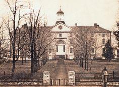 West College at Dickinson College, Carlisle, Pennsylvania, 1865