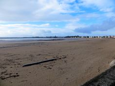 Ardrossan South Beach from Saltcoats.