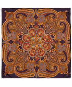 Etro Small Burgundy Paisley Silk Scarf | Scarves by Etro | Liberty.co.uk