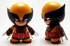 Daken Mini Munny by xf4LL3n.deviantart.com on @deviantART