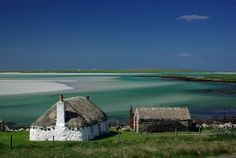 Malaclete,Isle of North Uist - looks like an ultimate vacation spot.