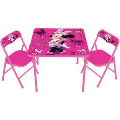 Walmart: Disney Minnie Mouse First Fashionista Activity Table Set