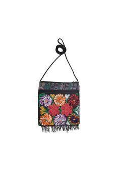 Ethnic Crossbody purse Floral Embroidered bags iPhone by IKALA