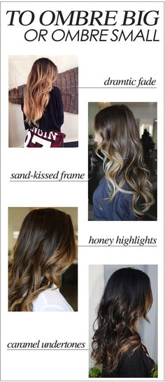 How Big Should One Ombre?