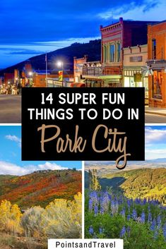 14 Fun Things to do in Park City. With gorgeous snowcapped mountains, and lots of winter activities, Park City is one of the largest ski destinations in the US! This is the ultimate guide to Park City with the best things to do during your visit. | Park City Itinerary | What to do in Park City | Park City Utah things to do | #parkcity #utah #ski
