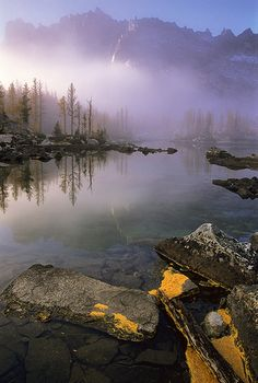 Blue Silence - Alpine Lakes Wilderness Area, Washington