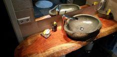 natúr fa fürdőszobabútor Wabi Sabi, Rustic Furniture, Vintage Designs, Fa, Sink, Home Decor, Diy Ideas, Home Decoration, Cottage Chic