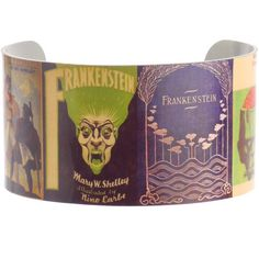 Frankenstein Editions Cuff | Arts & Entertainment | The Literary Gift Company