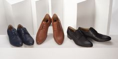 Blue, brown or black? Have a choice. Spring/Summer 2016.  #mensshoes #leathershoes #genuineleather